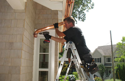 Gutter installation in Newnan