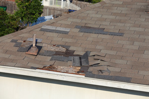 Roof Shingle Blow-off Repair in Peachtree City, Fayetteville